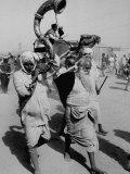 Pilgrims Gathering For Kumbh Mela  a Hindu Religious Celebration