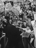 Governor William W Scranton  De-planing at GOP Convention