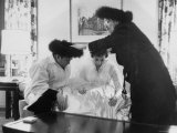 Bride and Groom Being Given a Traditional Prayer During Hasidic Jewish Wedding