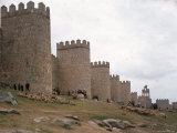 Wall Surrounding Avila Was Rebuilt by Alfonso VI in 1090 AD  9 Gates Afford Entrance to the City