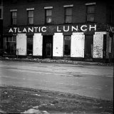 Waterfront Building  Atlantic Lunch  Scheduled to Be Demolished During Urban Renewal