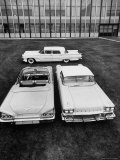 Chevrolet Impala and Lincoln Premiere  All New 1958 Cars