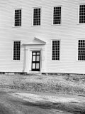 Facade of Rocky Hill Meeting House  Example of Colonial Architecture  Dating from 1785