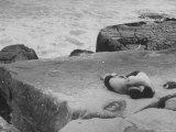 Lovers Enjoying an Argentine Beach Resort