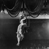 Night Club Dancer Performing a Bird Cage Scene
