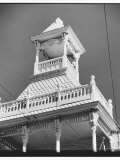 Gingerbread Cupola on 1861 Firehouse