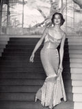 Evening Dress Designed by a California Designer