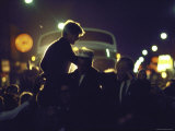 Presidential Contender Bobby Kennedy Campaigning