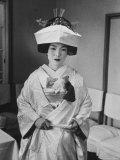Japanese Bride Wearing Traditional Wedding Costume