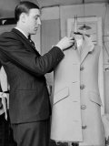 Rene  the Head Tailor  Hemming a Dress Jacket