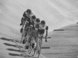 Bicyclists Competing at the Olympics
