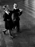Public School Students Taking Rhythmic Dance Class