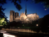 Notre Dame Cathedral as Seen from the Seine