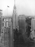View of the Chrysler Building in New York City