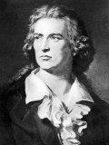 Portrait of Playwright Frederick Von Schiller