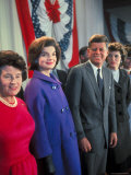 Rose Kennedy  Jackie Peter Behind Her on Morning After Election Day