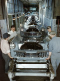 Studebaker Assembly Line in South Bend Indiana  c1946