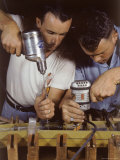 Workers Assembling Parts For a Consolidated Aircraft