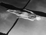 Swimmer Jeanne Wilson Underwater