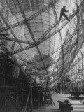 Scene of Construction of Graf Zeppelin at Fabrication Plant
