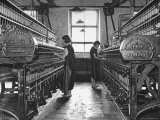 Young Girls Working in the Hot  Damp and Dirty York Street Flax Spinning Co