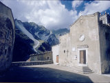 Small Church in Carrara Which Holds a Marble Crucifix by Donatello