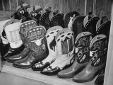 Several Pairs of Cowboy Boots from the 21 Club's Jack Kriendler's Collection