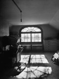 Window in Henry James' Home Reflecting Sunlight on the Floor