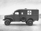 Side View of Ambulance