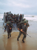 Marines of 9th Expeditionary Brigade Coming Ashore at Red Beach 2