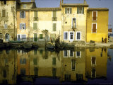 Quai Brescon in Martigues  a Mediterranean Fishing Village Near Marseille  France