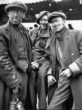 Three Coal Miners Standing Together