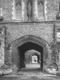The Outer Gate of Winchester College Which Dates from 1395