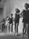 Young People Attending Ballet Classes at the Vienna State Opera Ballet School
