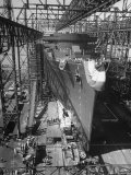 Prior to Launching Oceanliner America  Newport News  Virginia