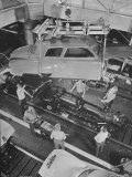 New Studebaker Being Assembled in Factory