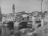 The Ponte Vecchio over the Arno River