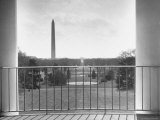 View from Balcony of the White House