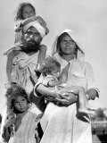 Sikh and His Family in Convoy Migrating to East Punjab After the Division of India