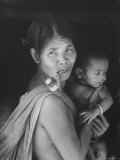 Mountain Tribal Woman and Child