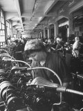 Women Working in the Watch Factory no2 in Moscow