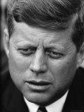 Senator John F Kennedy During Press Conference at Gracie Mansion