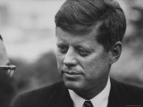 Senator John F Kennedy Following Press Conference at Gracie Mansion