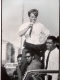Senator Robert F Kennedy Campaigning During the California Primary