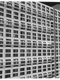 Windows of Apartment Building on Michigan Avenue