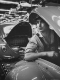 One of Many Italian Immigrants Working in Volkswagen Plant