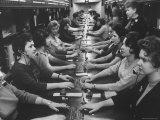 Telephone Girls on Stock Quotation Service