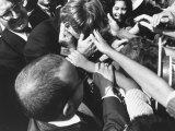 Senator Robert F Kennedy Campaigning