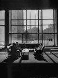 View of a Lounge in the United Nations Building