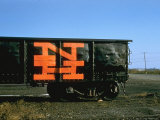 Railroad Box Car with Logo NH